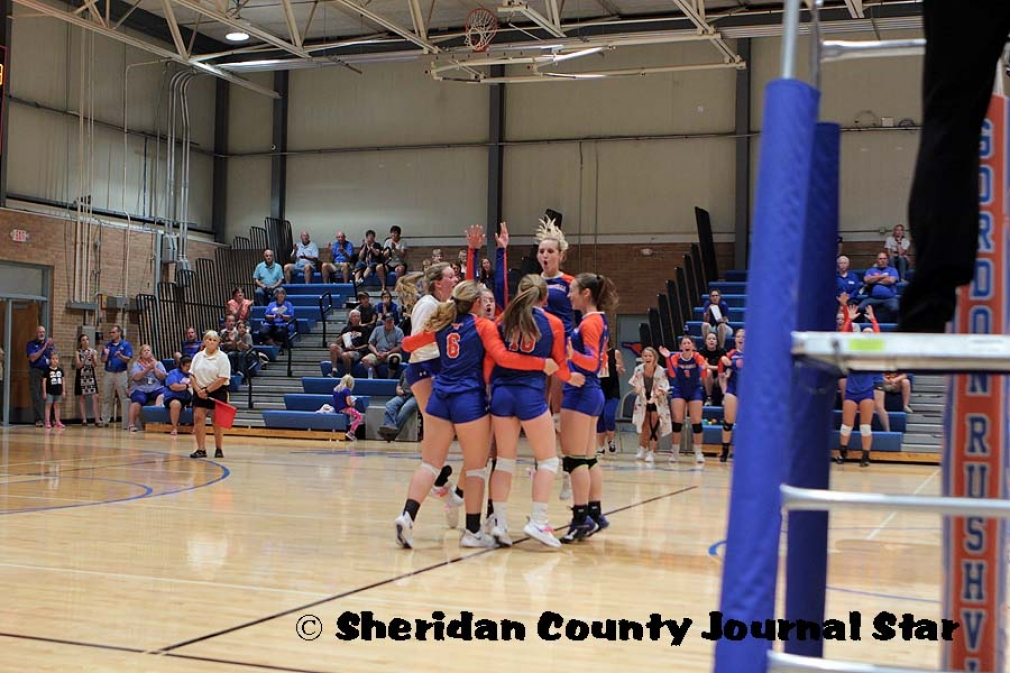 GR Volleyball vs Chadron 9/5/19