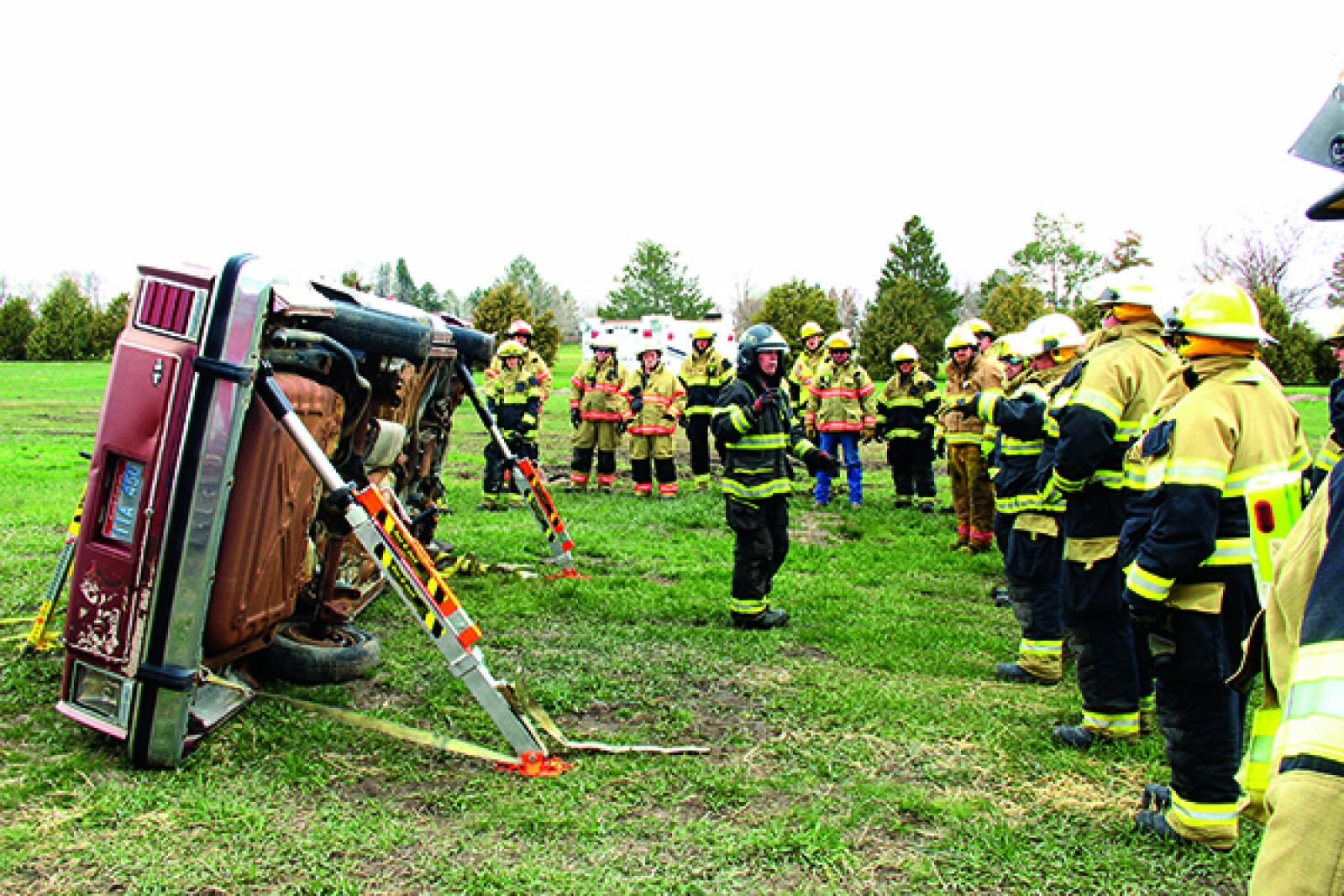 Sandry Fire Supply provides training for local Fire Departments