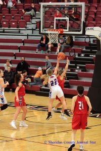 GR Girls Basketball - Subdistricts vs. Chadron 2019