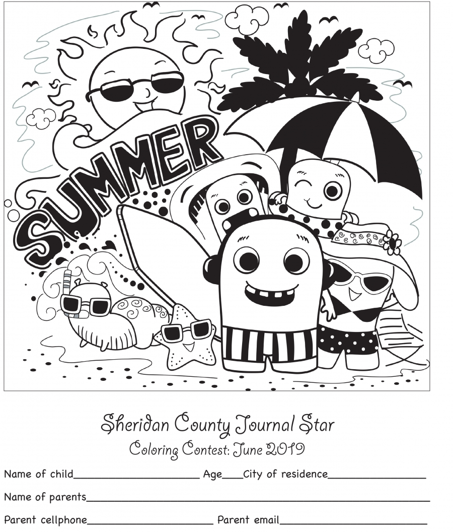 SCJS Coloring Contest 2019
